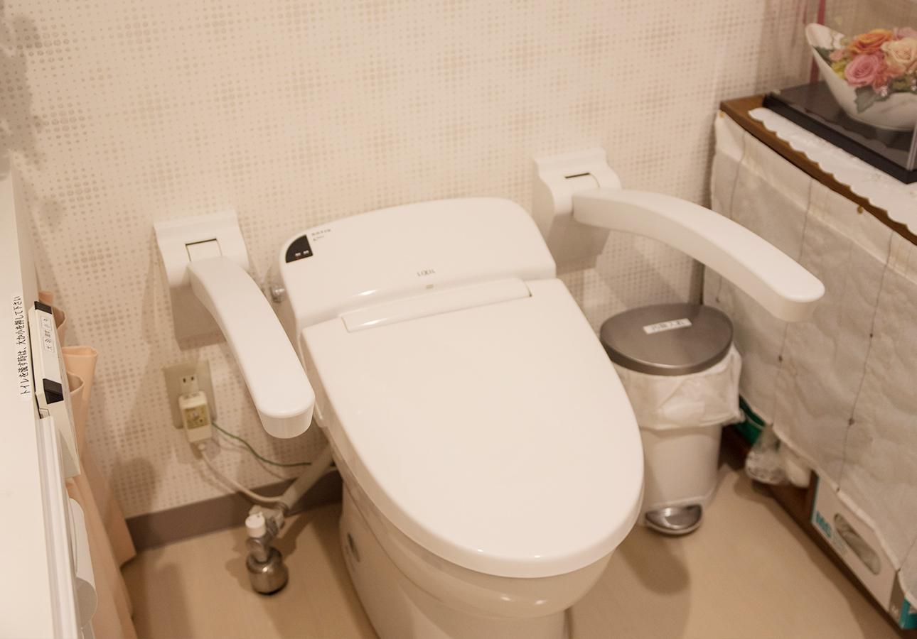 医院のお手洗い